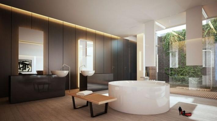 modern bathroom maison valentina  modern bathrooms Sunlight Gorgeous and Modern Bathrooms Modernist in Mexico