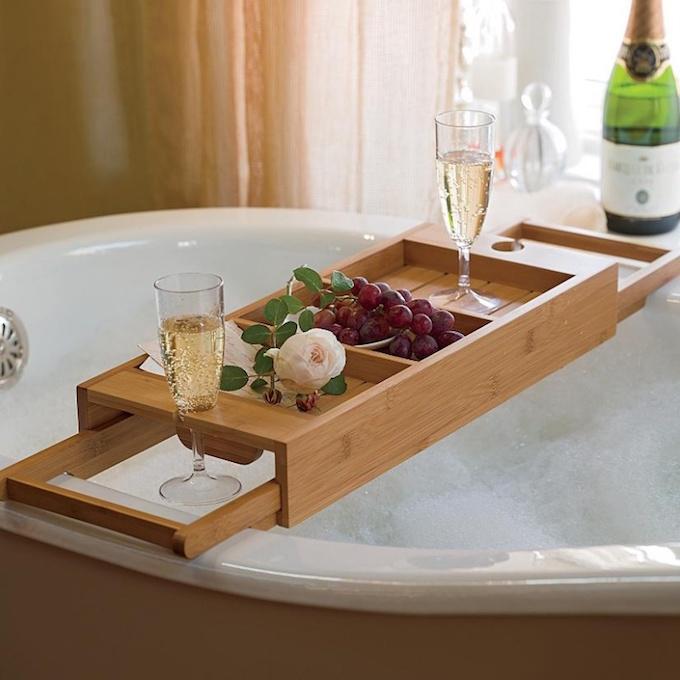 Luxury Bathrooms Delightfully Feminine Tub Tray  Luxury Bathroom Delightfully Feminine luxury bathrooms Delightfully bathtub designrulz 2
