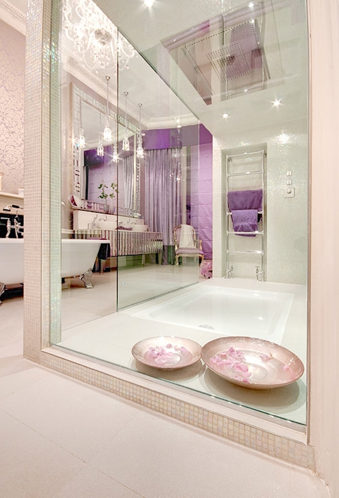 Luxury Bathrooms Delightfully Feminine Shower  Luxury Bathroom Delightfully Feminine luxury bathrooms Delightfully feminine 1