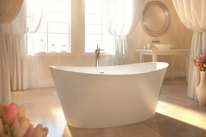 Luxury Bathrooms Delightfully Feminine Tub  Luxury Bathroom Delightfully Feminine luxury bathrooms Delightfully feminine BainUltra EvanescenceOval Tubs HERO 2