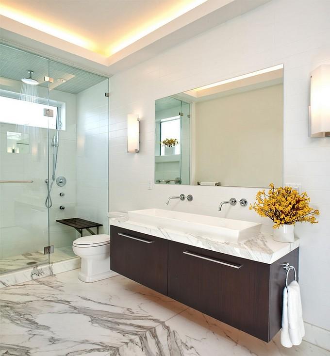 stylish bathroom maison valentina stylish bathroom 10 Steps to create a stylish bathroom marble