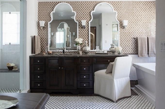 stylish bathroom maison valentina stylish bathroom 10 Steps to create a stylish bathroom opulent mirror
