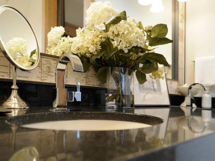 Bathroom Vanity Decor preparing your guest bathroom for thanksgiving | maison valentina blog
