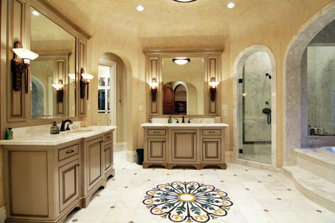 Design touch for your master bathroom for Amazing master bathroom designs