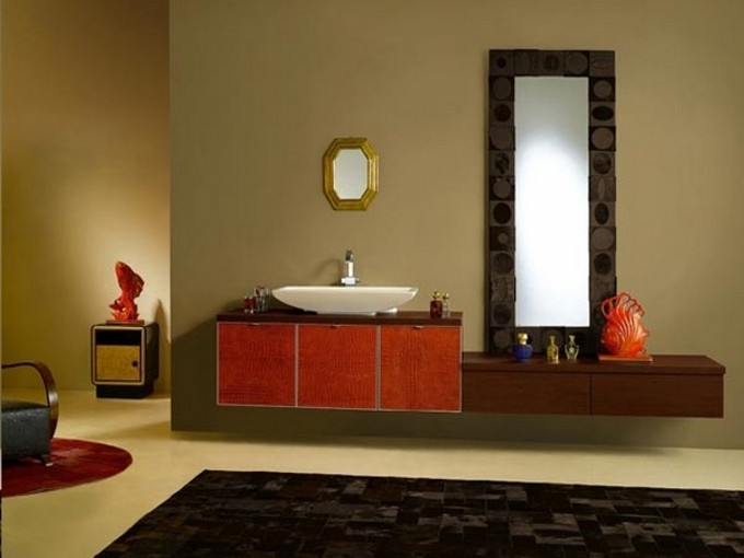 unconventional bathroom maison valentina modern bathroom Unconventional Modern Bathroom Vanity! 3