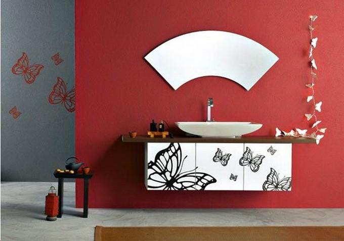 unconventional bathroom maison valentina modern bathroom Unconventional Modern Bathroom Vanity! 7