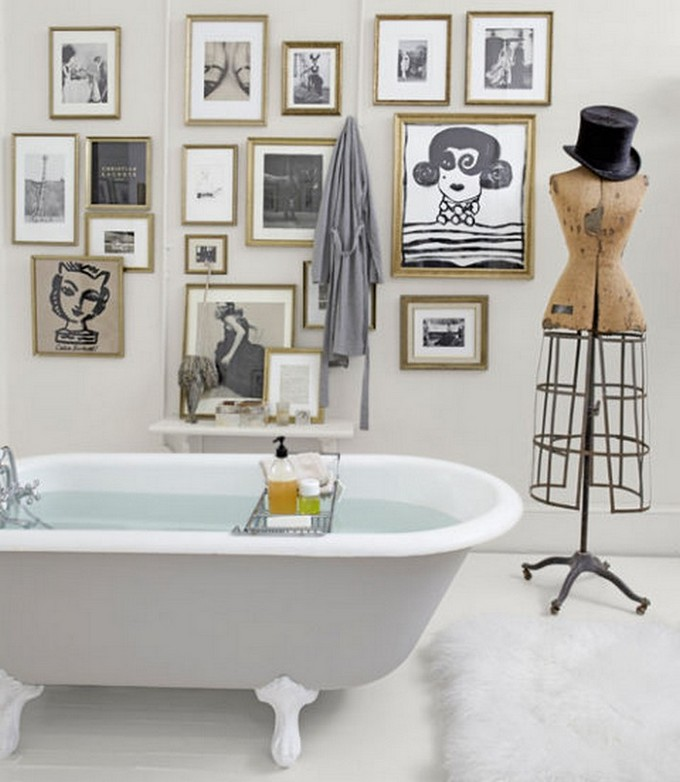 unconventional bathroom maison valentina modern bathroom Unconventional Modern Bathroom Vanity! Bathroom designs creative