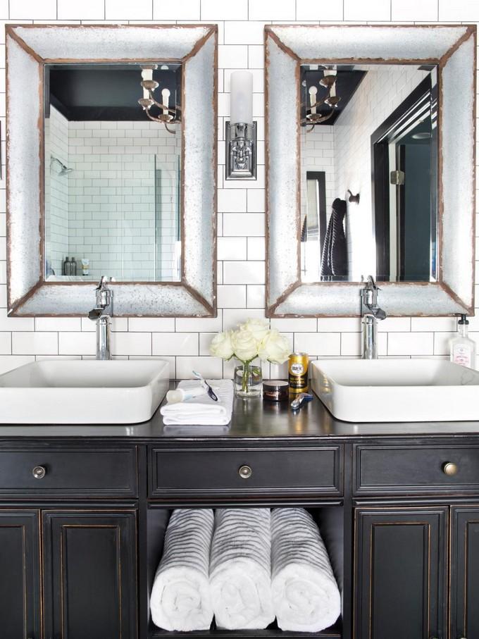 White opulence maison valentina2 black and white bathrooms Black and White Bathrooms of Spectacular Opulence Black and White opulence maison valentina2