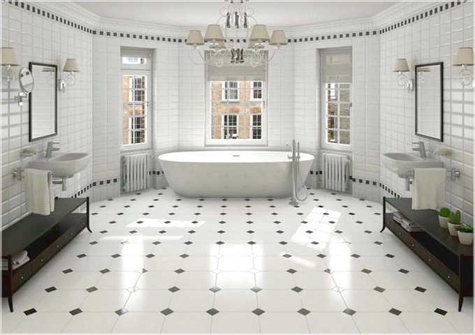 Black and White Bathrooms of Spectacular Opulence black and white bathrooms Black and White Bathrooms of Spectacular Opulence Black and White opulence maison valentina3