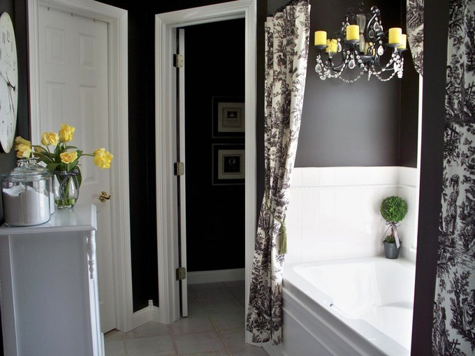 Black and White Bathrooms of Spectacular Opulence black and white bathrooms Black and White Bathrooms of Spectacular Opulence Black and White opulence maison valentina5