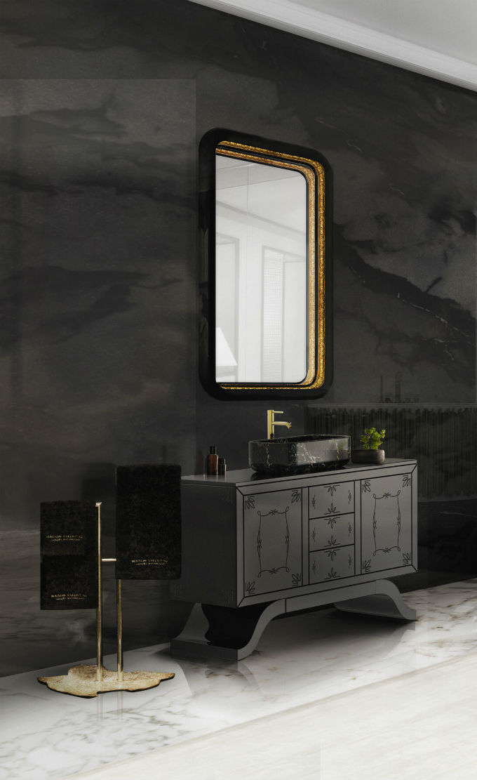 Black And White Bathrooms Of Spectacular Opulence Black And White Bathrooms  Black And White Bathrooms Of