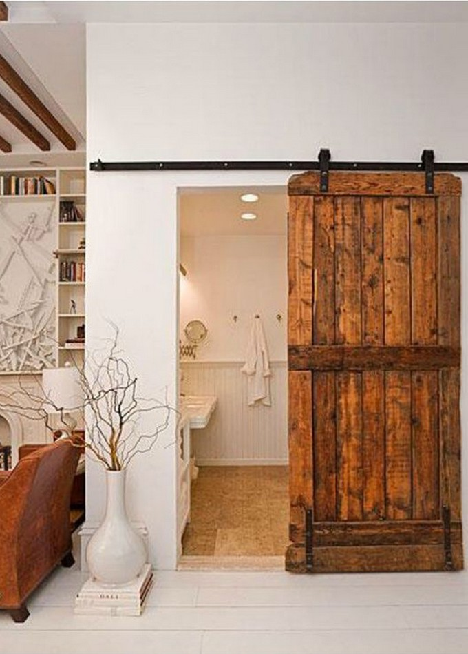 unconventional bathroom modern bathroom Unconventional Modern Bathroom Vanity! decoradornet porta celeiro 12