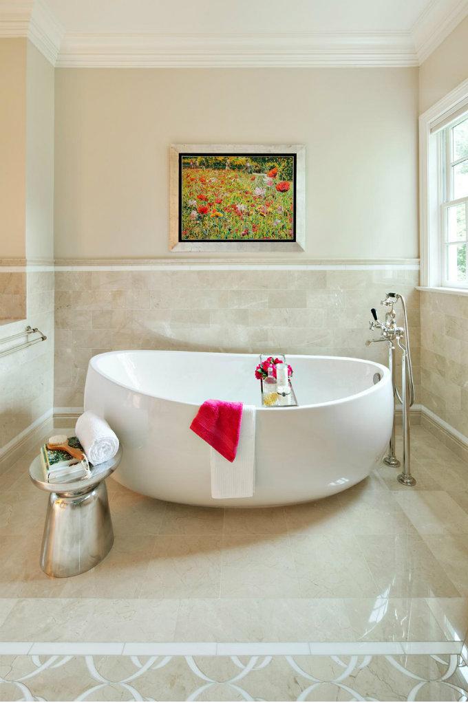 Modern Bathroom Side Table Design Ideas