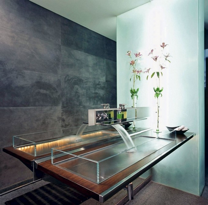Gentil 10 Modern Bathrooms With Futuristic Sinks Maison Valentina2 Bathroom Sinks  10 Futuristic Bathroom Sinks 10 Modern