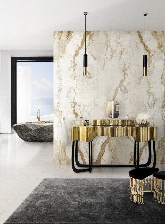 luxury bathrooms by maison valentina dressing table  Maison Valentina: Luxury Bathrooms Ideas 11 sinuous dressing table mandy stool diamond bathtub maison valentina HR1