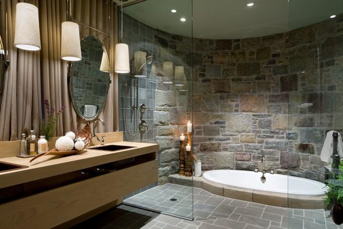 Beau Stone Walls For Bathrooms Maison Valentina LUXURY BATHROOMS 12 LUXURY  BATHROOMS WITH STONE WALLS 8795656f1aa7e2585e719ad752ec231a