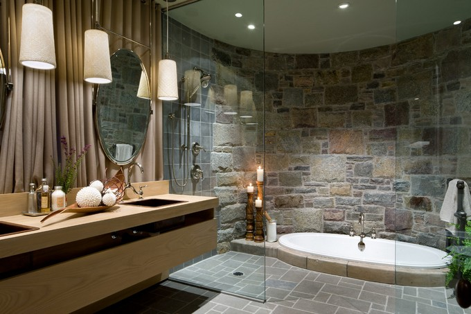 luxury bathrooms. Stone Walls For Bathrooms Maison Valentina LUXURY BATHROOMS 12  WITH STONE WALLS 8795656f1aa7e2585e719ad752ec231a
