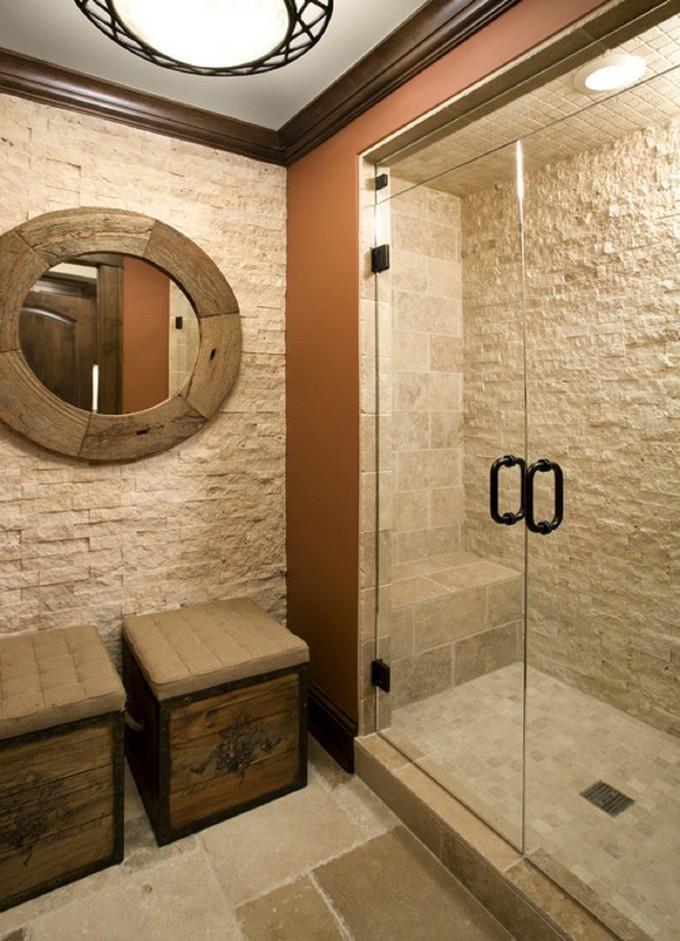 Stone Walls For Luxury Bathrooms Maison Valentina 12 With Ledgestone