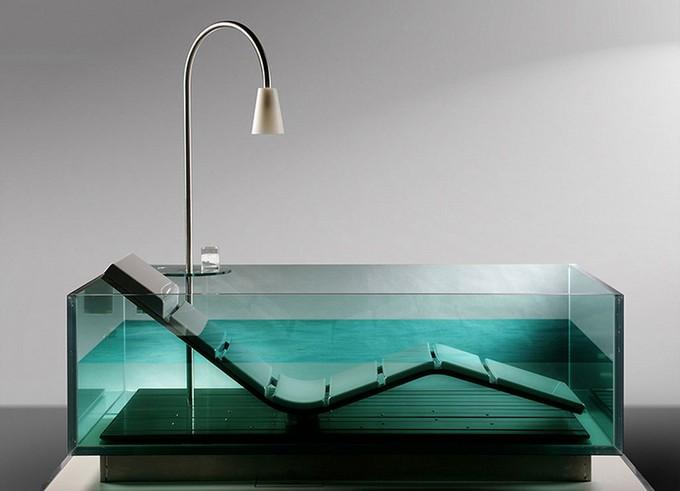 Bathroom Design Lounge Chair Glass Maison Valentina Bathroom Design Unique  And Unusual Bathtubs For Bathroom Design