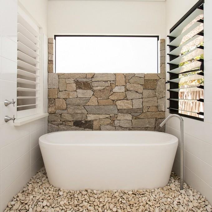 Stone Walls For Luxury Bathrooms Maison Valentina LUXURY BATHROOMS 12  LUXURY BATHROOMS WITH STONE WALLS Fotos