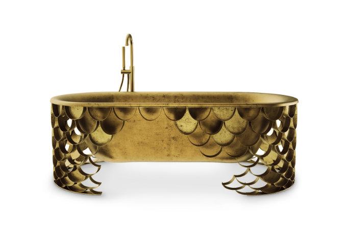koi collection bathtub at maison objet  Maison Valentina: Luxury Bathrooms Ideas koi collection bathtub at maison objet