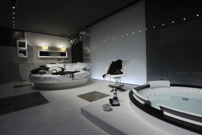 Modern Bedrooms With Bathtubs Or Showers Maison Valentina Luxury Bathrooms Ideas 12
