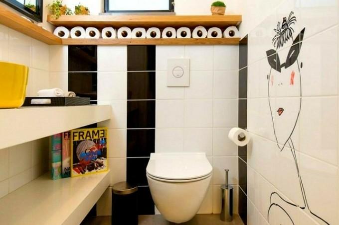 wall art for small bathroom maison valentina4 small bathrooms Wall Art for Small Bathrooms wall art for small bathroom maison valentina4