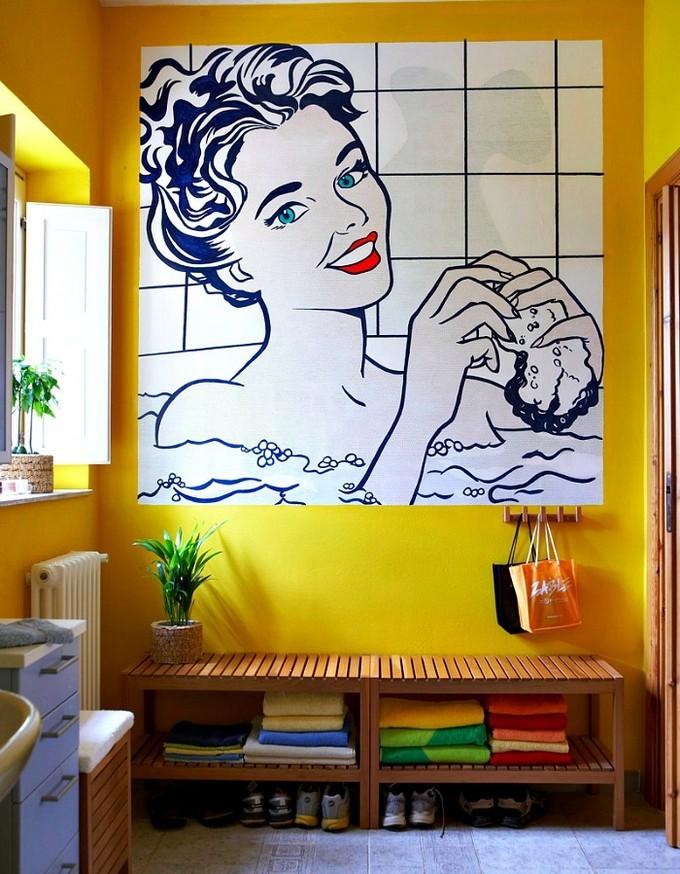 wall art for small bathroom maison valentina8 small bathrooms Wall Art for Small Bathrooms wall art for small bathroom maison valentina6