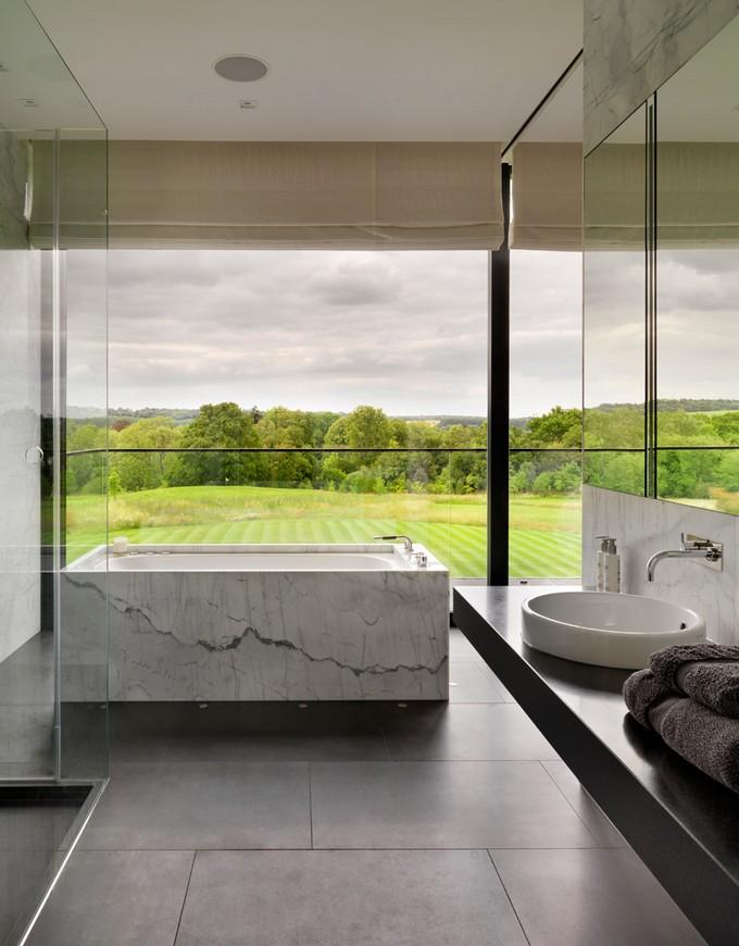 Luxury Bathroom with mountain views 3 modern bathroom Modern Bathrooms With Mountain Views Luxury Bathroom with mountain views 12