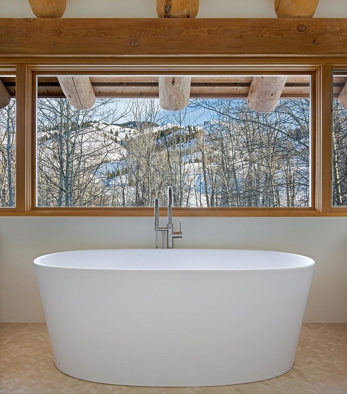 Luxury Bathroom with mountain views 10 modern bathroom Modern Bathrooms With Mountain Views Luxury Bathroom with mountain views 4