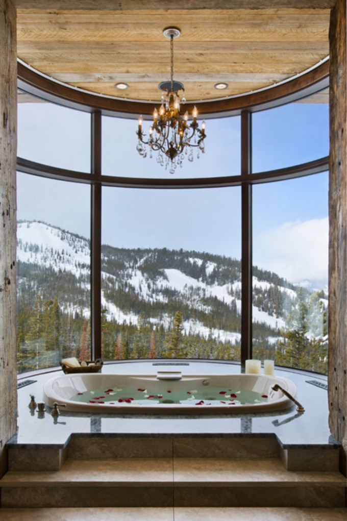 Luxury Bathroom with mountain views 3 modern bathroom Modern Bathrooms With Mountain Views Luxury Bathroom with mountain views 5