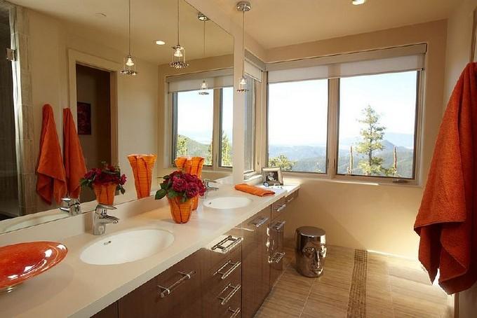 Luxury Bathroom with mountain views 3 modern bathroom Modern Bathrooms With Mountain Views Luxury Bathroom with mountain views 7