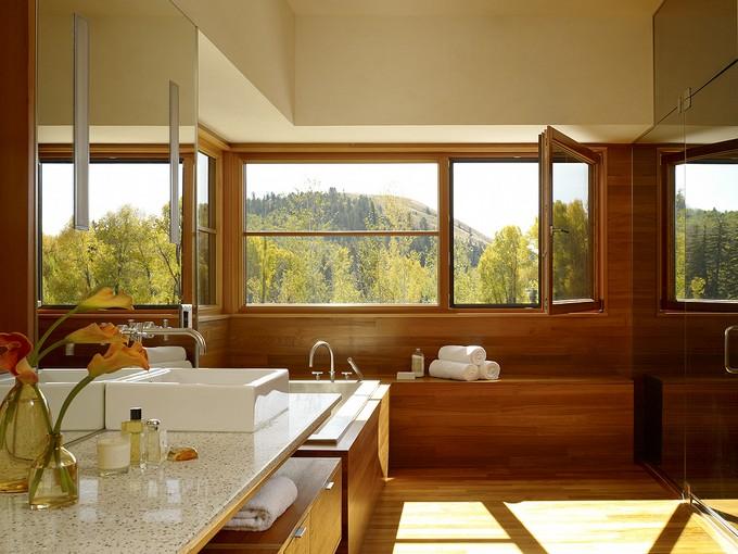 Luxury Bathroom with mountain views 3 modern bathroom Modern Bathrooms With Mountain Views Luxury Bathroom with mountain views 8