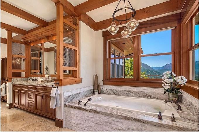 Luxury Bathroom with mountain views 3 modern bathroom Modern Bathrooms With Mountain Views Luxury Bathroom with mountain views 9