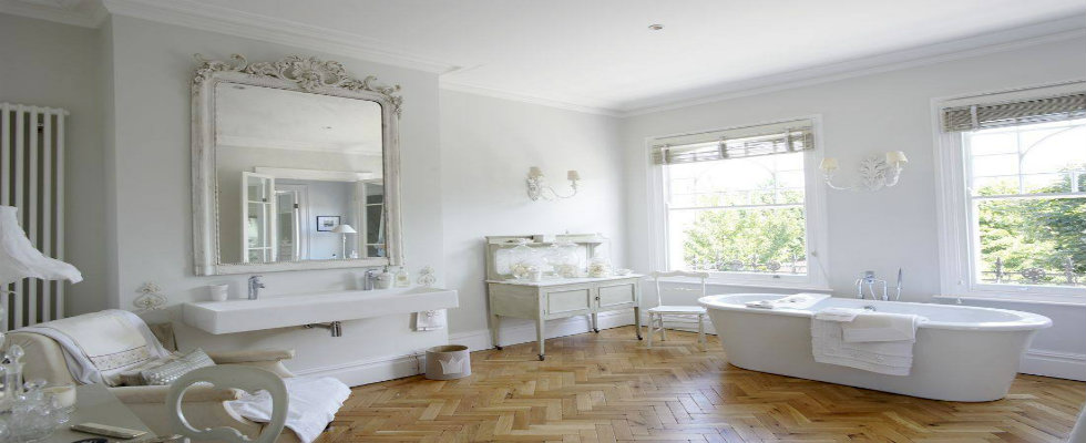 10 tips for a chic small bathroom for Maison chic shabby chic