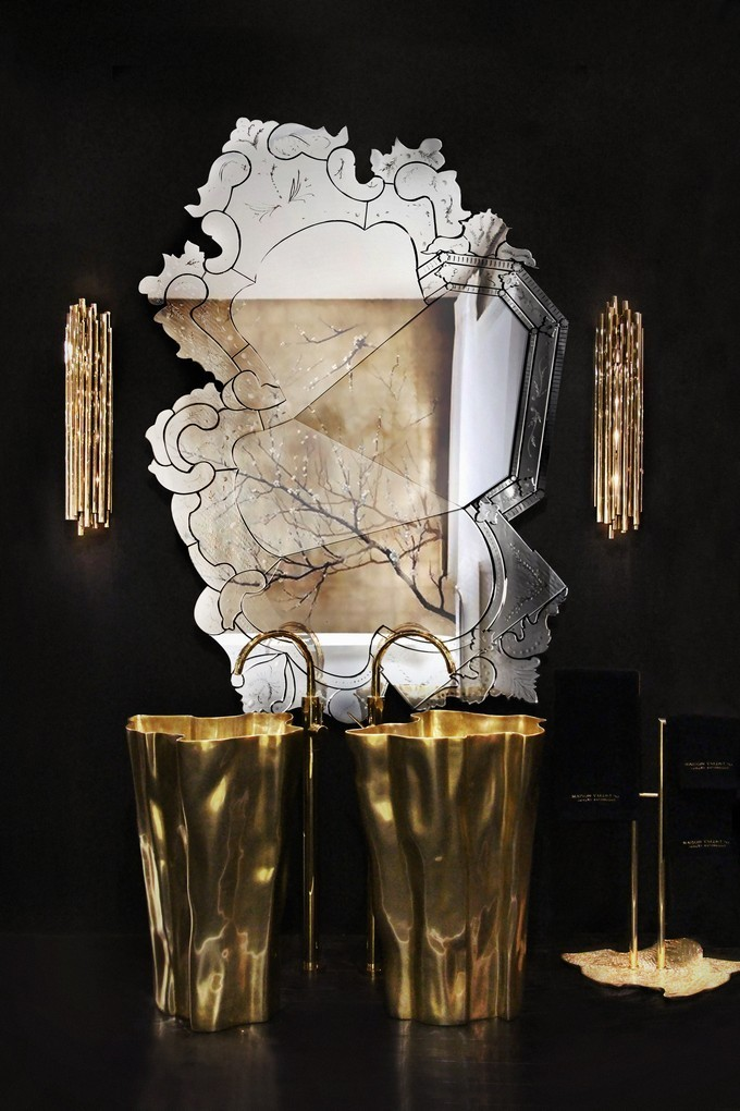 Bathroom Mirror Designs Maison Valentina Luxury For By