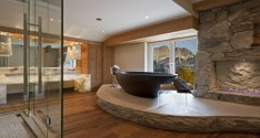 feature maison valentina luxury bathrooms with fireplaces