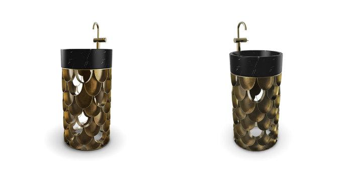 Stunning Freestanding Washbasins by Maison Valentina freestanding washbasins Stunning Freestanding Washbasins by Maison Valentina koi freestanding