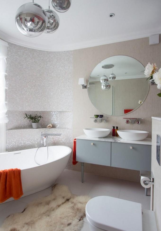 luxe bathroom details round bathtubs 10 Round Bathtubs Ideas luxe bathroom details