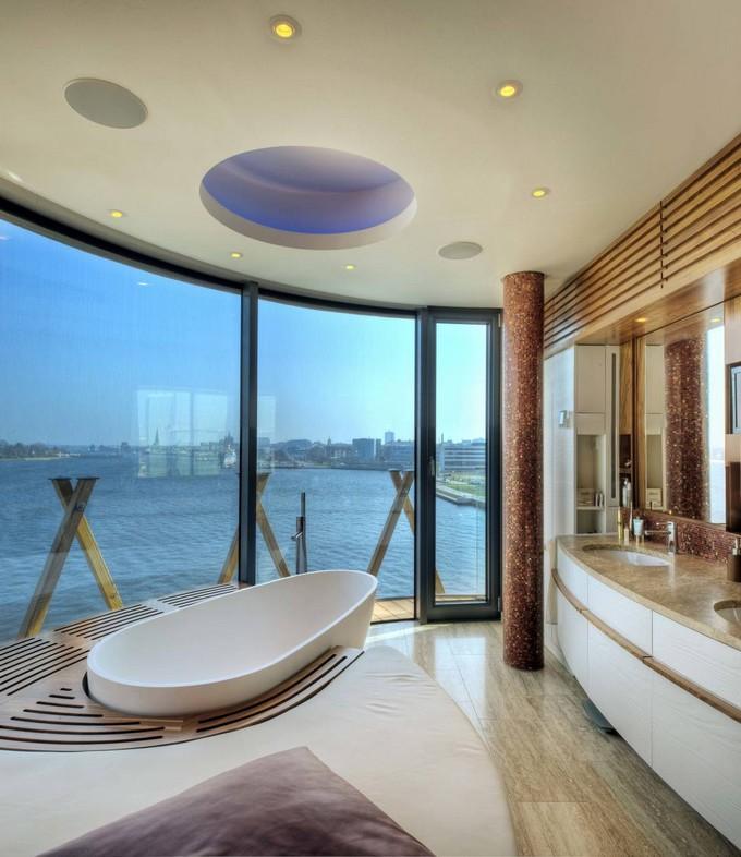fascinating bathroom ocean view | 20 Modern Bathrooms with Luxury Ocean Views
