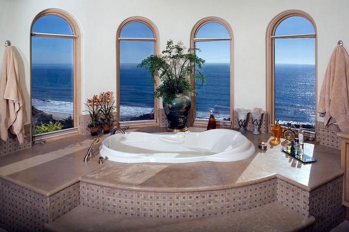 20 modern bathrooms with luxury ocean views - Salle de bain de reve ...