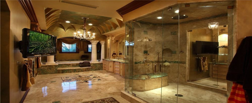 15 Astonishing Mediterranean Bathroom Designs