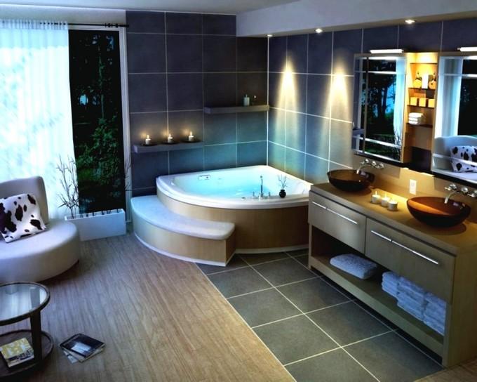 New Luxury Baths. 20 Funcional Bathroom Corners Design Ideas