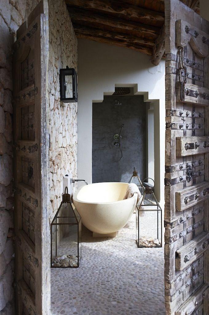 15 Attractive Bohemian Bathrooms Ideas