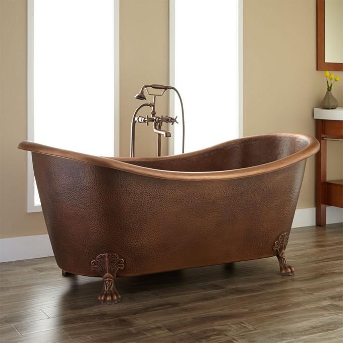 Graceful Clawfoot Bathtub For Your Luxury Bathroom Maison Valentina1 Clawfoot  Bathtubs Graceful And Elegant Clawfoot Bathtubs