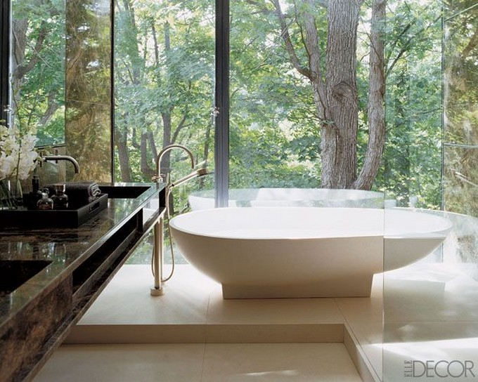 The most luxurious bathtubs that you ever seen for Forest bathroom ideas
