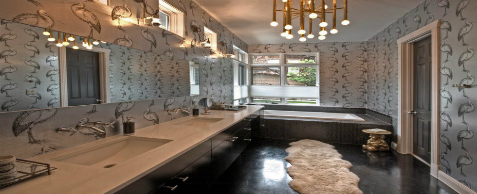 bathroom rugs Bathroom Rugs: Cowhide and Sheepskin feature