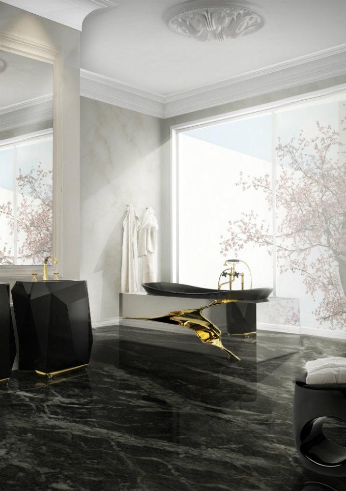 7 lapiaz bathtub diamond freestand maison valentina HR spa. Luxury Spa Bathroom Ideas to Create your Private Heaven