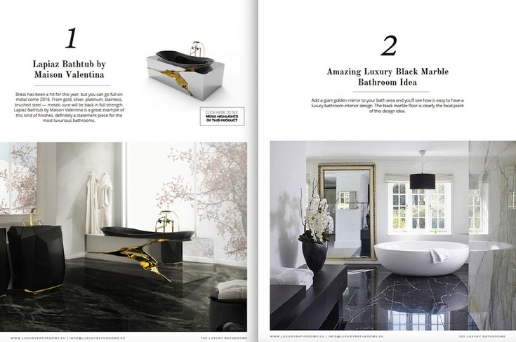 Free e-Book 100 Must-See Luxury Bathroom Ideas to Feel Inspired on restaurant design books, painting books, construction books, planning books, architectural design books, boat design books, jewelry design books, landscape design books, bath books, clothing design books, furniture design books, deck design books, car design books, house design books, hotel design books, glass design books, graphic design books, treehouse design books, project management books, electrical design books,