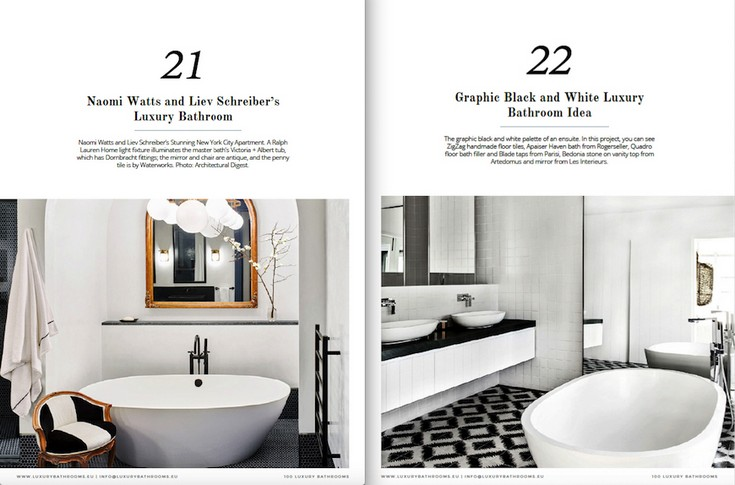 Free e-Book 100 Must-See Luxury Bathroom Ideas to Feel Inspired on clothing design books, house design books, project management books, electrical design books, planning books, painting books, architectural design books, construction books, hotel design books, car design books, treehouse design books, graphic design books, jewelry design books, landscape design books, boat design books, bath books, glass design books, restaurant design books, deck design books, furniture design books,